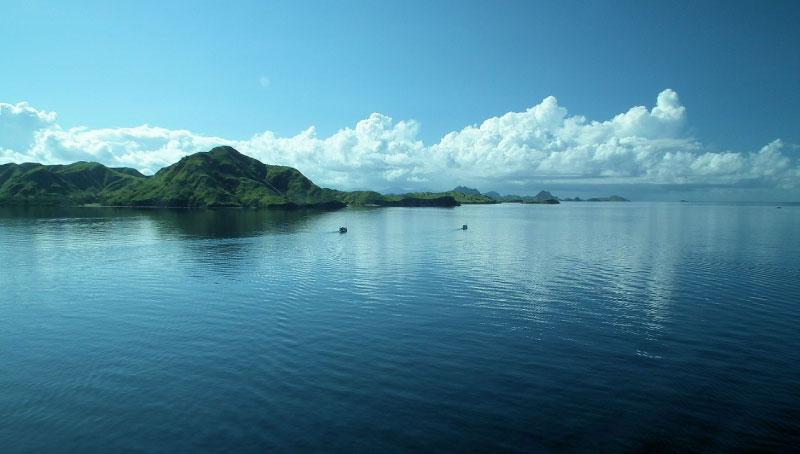 Volcanic Landscape In Indonesia