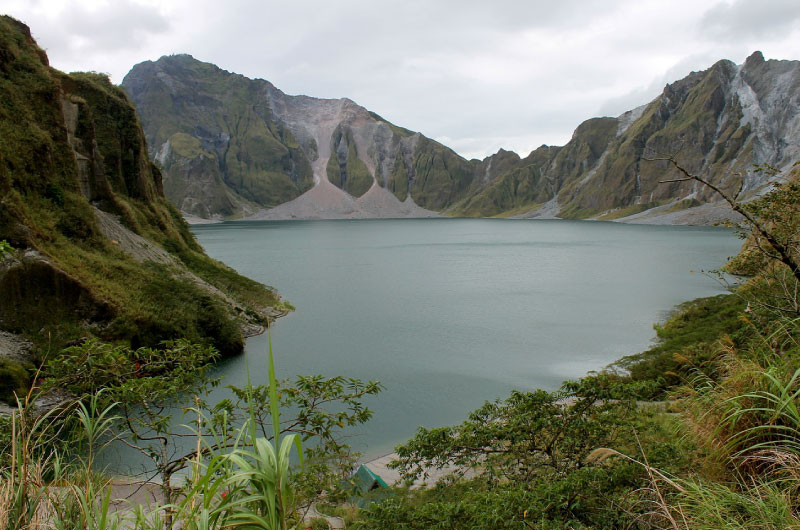 Volcanic Landscape In The Philippines