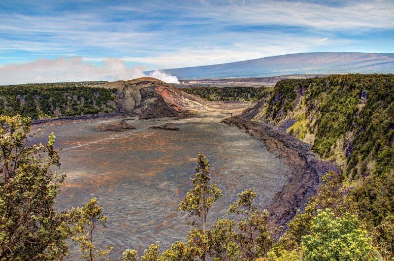 Volcano Crater In Hawaii