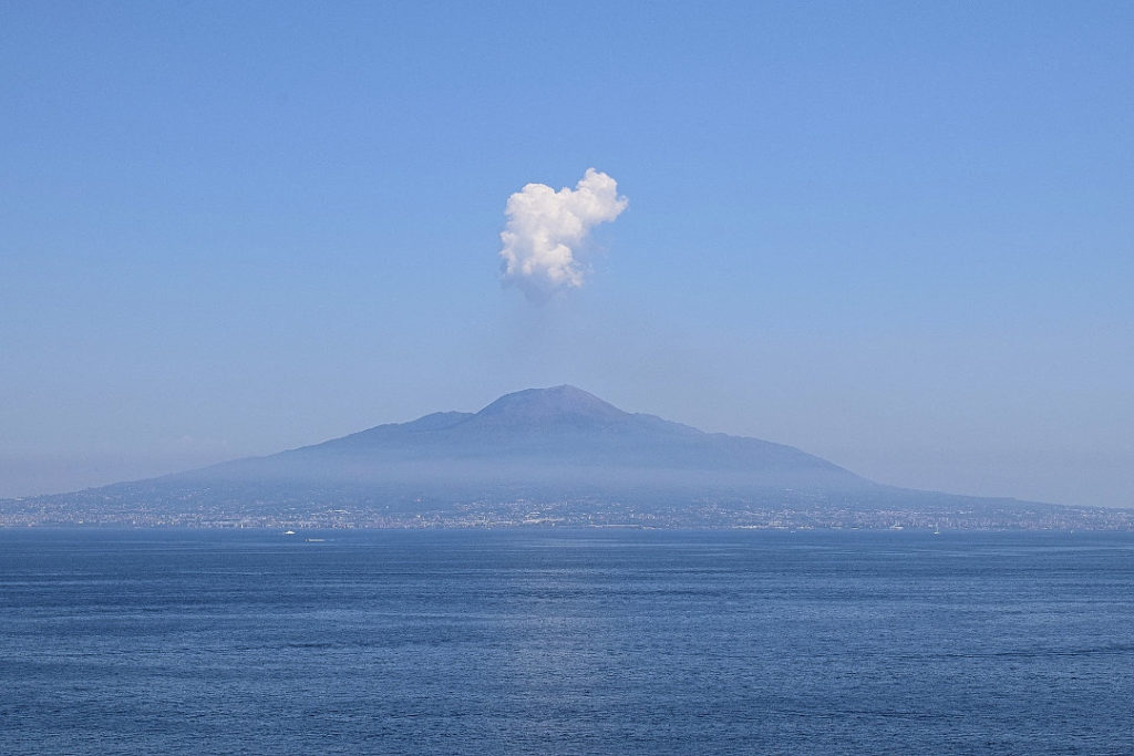 famous volcano mount vesuvius