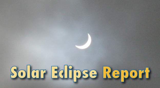 Solar Eclipse 2015 UK Report