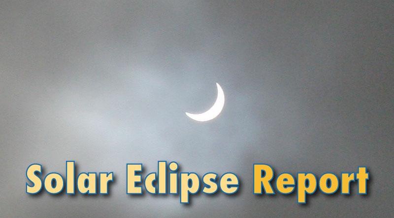 Solar Eclipse 2015 UK Report