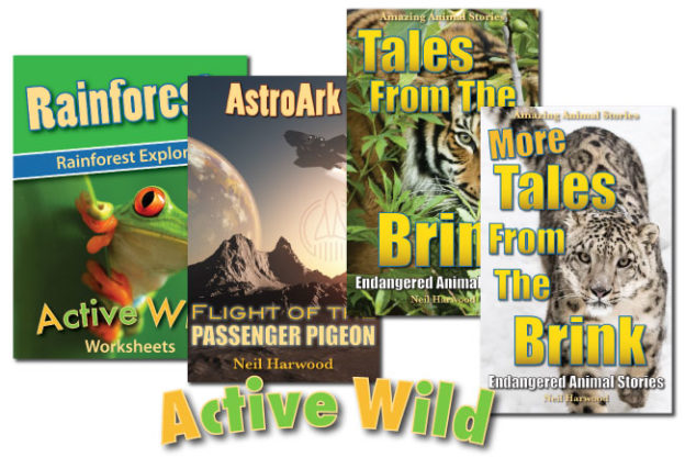 Active Wild Books For Kids