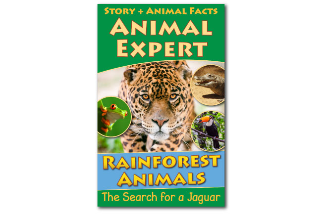 Active Wild Rainforest Animals Animal Expert Book Cover