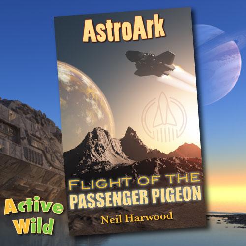 AstroArk Flight Of The Passenger Pigeon Cover