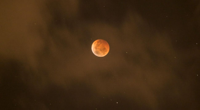 Blood Moon Total Eclipse Of The Moon