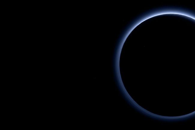 Blue Sky On Pluto