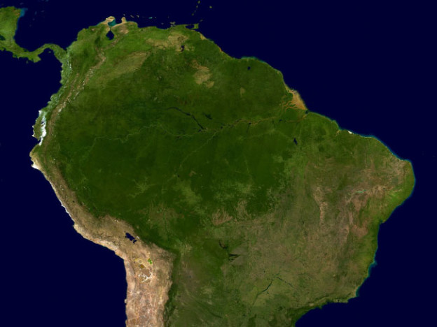 Where is the amazon rainforest located map facts where is the amazon rainforest located gumiabroncs Choice Image
