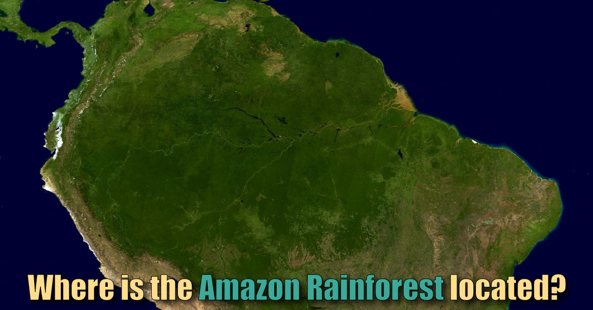 Where is the amazon rainforest located map facts gumiabroncs Gallery