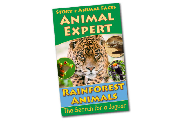 Rainforest Animals Animal Expert Book