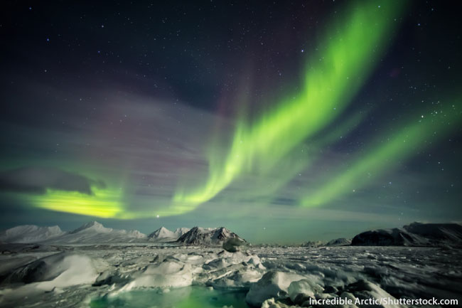 Arctic Aurora Borealis Northern Lights
