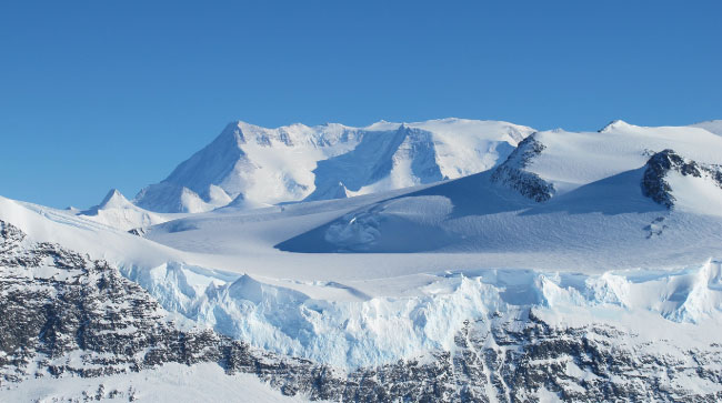 Antarctica Desert Landscape