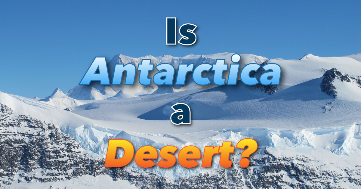 Is Antarctica A Desert Learn About The Antarctic Climate