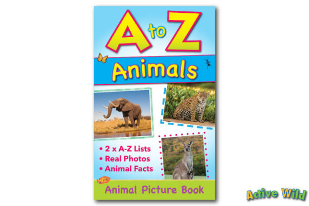 A to Z Animals Book Cover