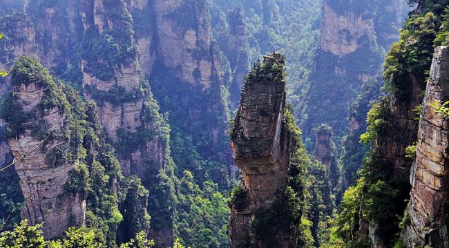 Zhangjiajie Avatar Mountain