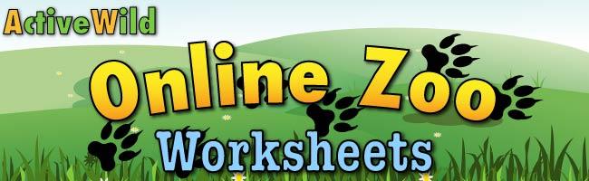 online zoo worksheets