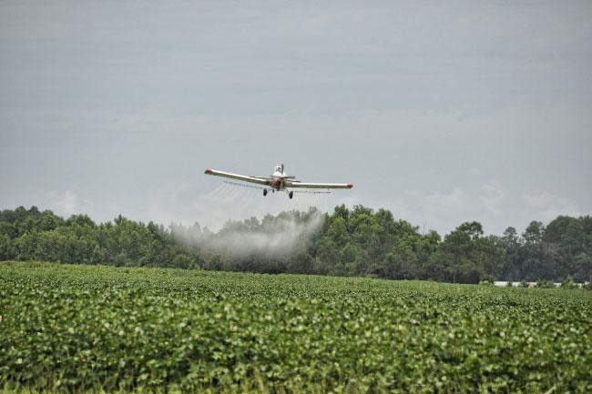 Crop Dusting Pesticides
