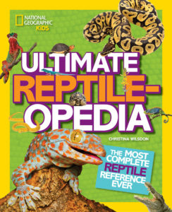 Ultimate Reptileopedia: The Most Complete Reptile Reference Ever book cover