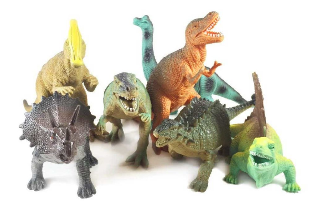Boley 12-Pack Dinosaur Toys