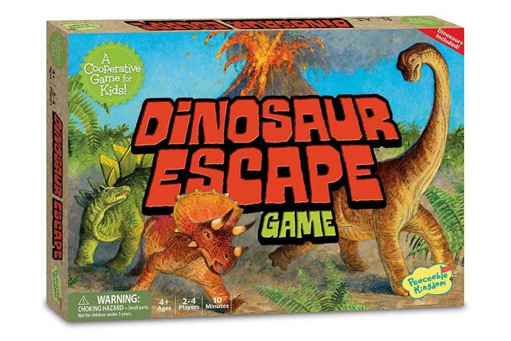Dinosaur Escape Board Game