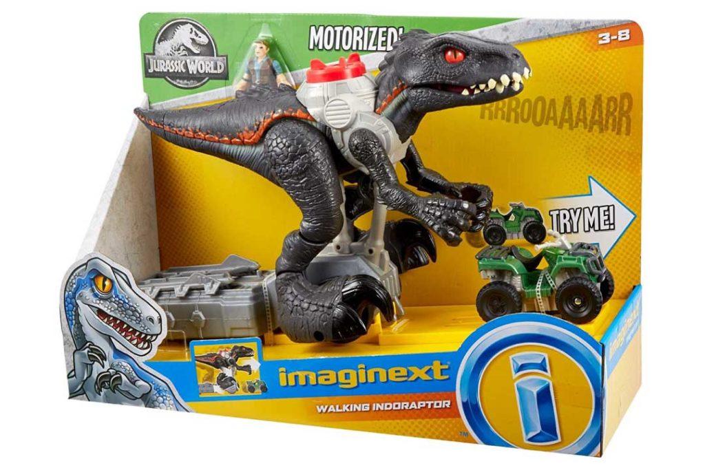 Fisher-Price Jurassic World Walking Indoraptor Dinosaur