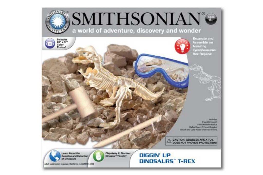 Best Dinosaur Gift Ideas Smithsonian Diggin' Up Dinosaurs T-Rex