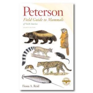 Peterson Field Guide to Mammals of North America Cover