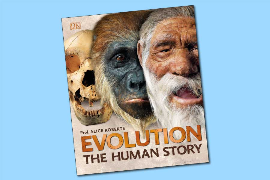 Evolution The Human Story Book