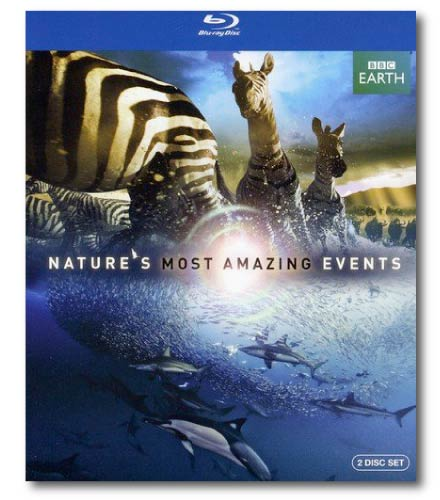 Nature's Most Amazing Events blu-ray cover